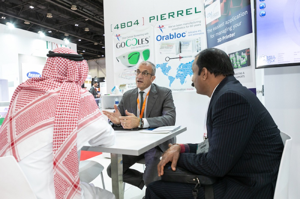 Italy Presents Latest Dental Innovation at AEEDC Dubai