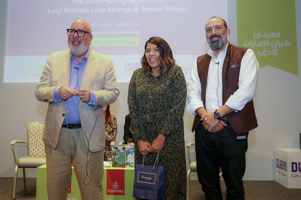 WINNER OF 2020 MONTEGRAPPA WRITING PRIZE IS ANNOUNCED AT THE EMIRATES AIRLINE FESTIVAL OF LITERATURE