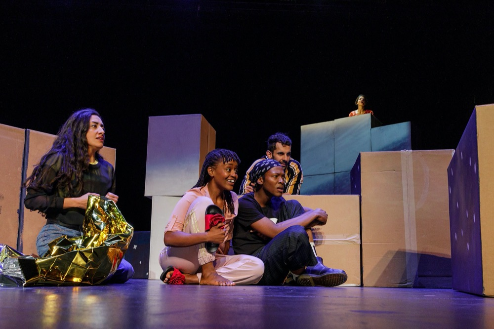The Arts Center at NYU Abu Dhabi presents CARTOGRAPHY, a theater piece centered aroundstories of migration and reinvention