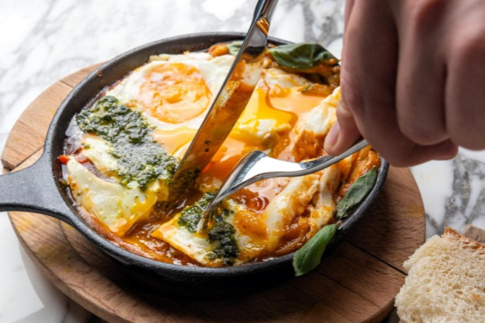 Mediterranean Kitchen's New Sweet and Savoury Breakfast Menu