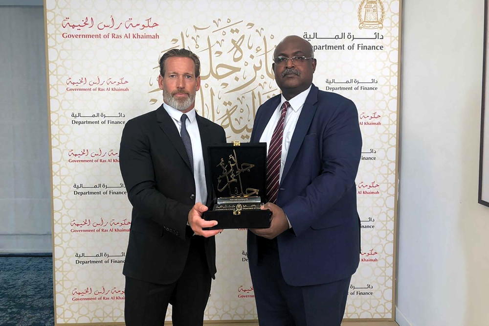 Government of Ras Al Khaimah awards Banks Legal with the2019 Julphar Finance Award for Excellence