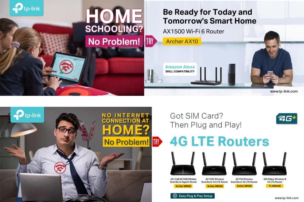 Cutting-edge Technology Solutions from TP-Link forWork at Home or Distance Learning