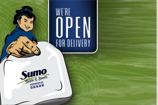 SUMO SUSHI & BENTO LAUNCHES CONTACT-FREE DELIVERY