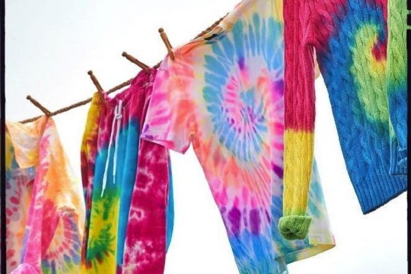 Tie-Dye    how to step by steb